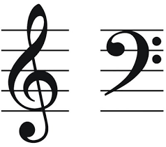 Image result for treble clef bass clef